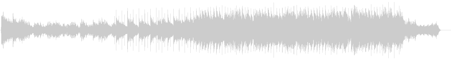 喜びのファンタスティックなソフトバラードの未再生の波形