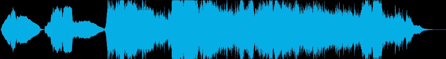 落ち着いた、優しい、サウンドトラッ...の再生済みの波形