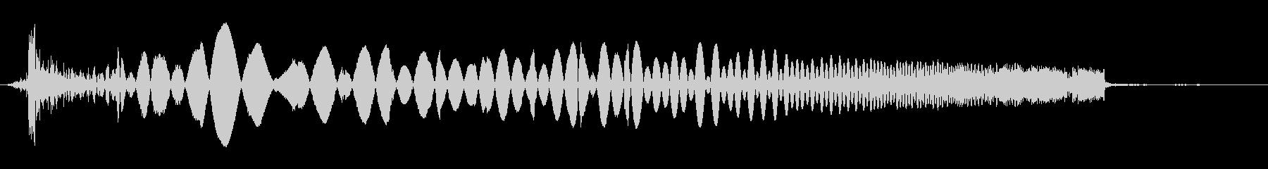 ラジオスキャン9の調整の未再生の波形