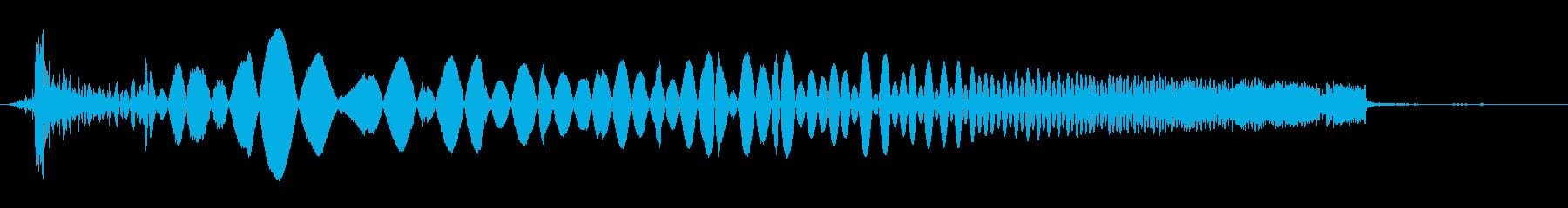 ラジオスキャン9の調整の再生済みの波形