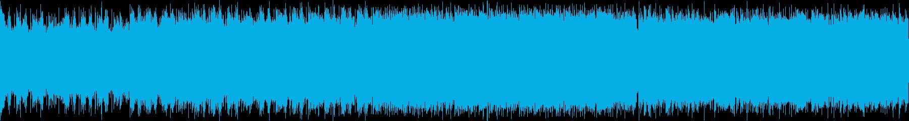 メタル ループ 戦闘曲の再生済みの波形