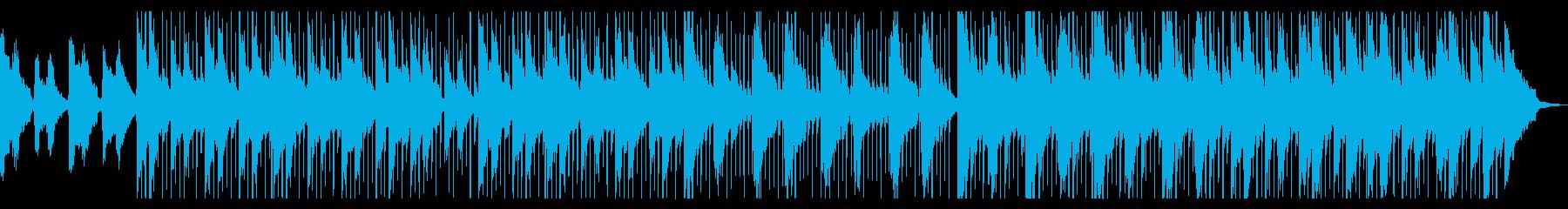 ローファイヒップホップ/メロウな雰囲気の再生済みの波形