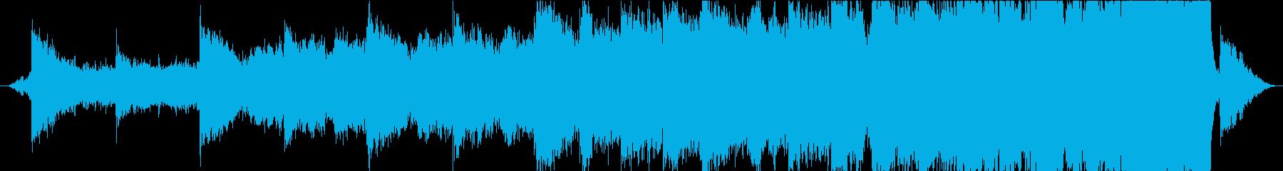 感動的トレーラーオーケストラ&クワイアの再生済みの波形