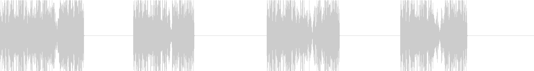 DJプレイ スクラッチ・ノイズ 143の未再生の波形