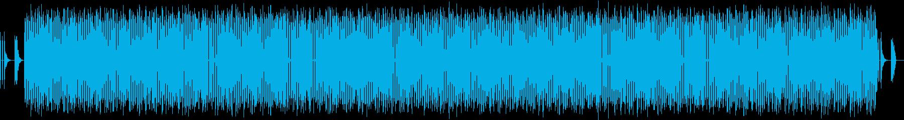 コミカルで疾走感のある楽曲【劇】の再生済みの波形
