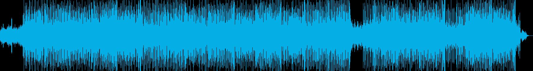 クラリネットが美しいポップスの再生済みの波形