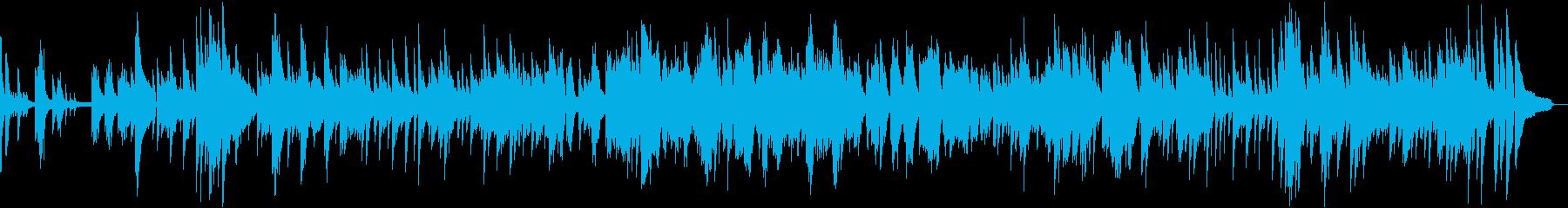 浜辺の歌 オシャレソロジャズピアノ生演奏の再生済みの波形