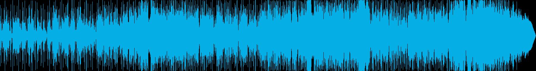 物悲しいスムースジャズ風のバラードの再生済みの波形