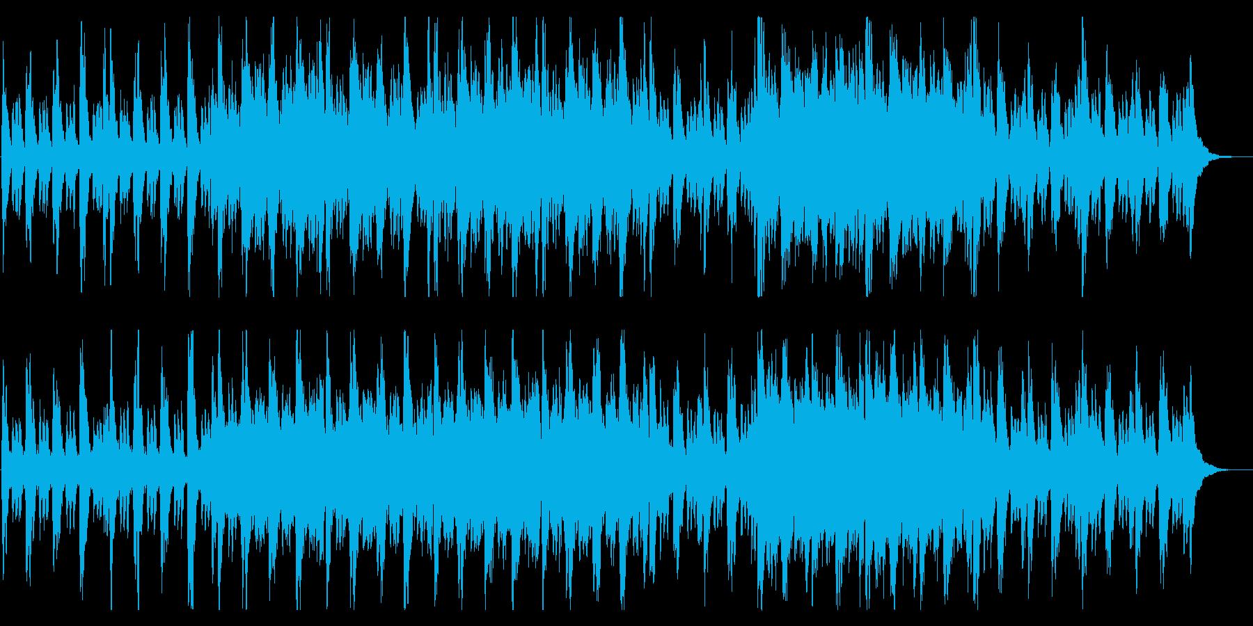 新生活・冒険の始まり・サントラ風BGMの再生済みの波形