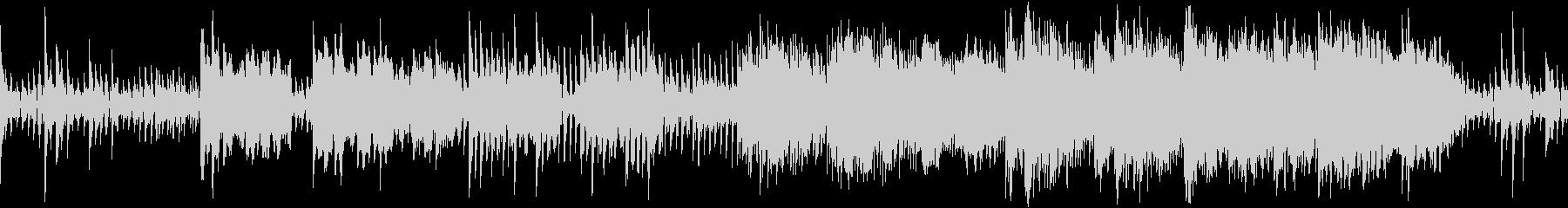 ダークで緊張感のあるホラーサウンドの未再生の波形