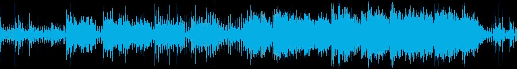 ダークで緊張感のあるホラーサウンドの再生済みの波形