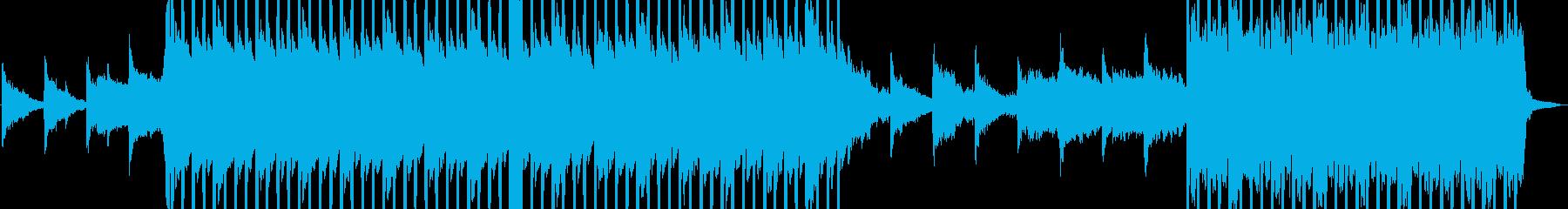 爽やかなでポップなEDMの再生済みの波形