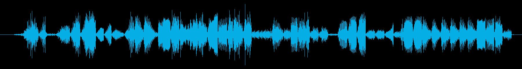 イメージ グリッチトークFX 06の再生済みの波形