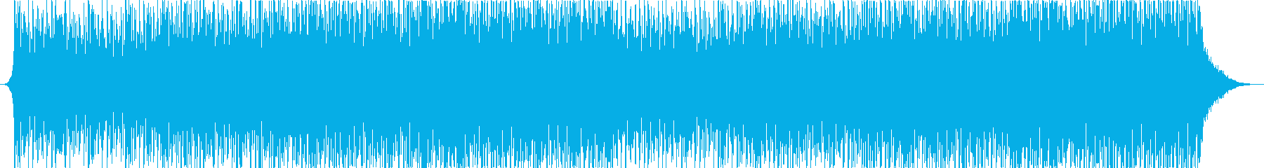 Inspiring ambient house music's reproduced waveform