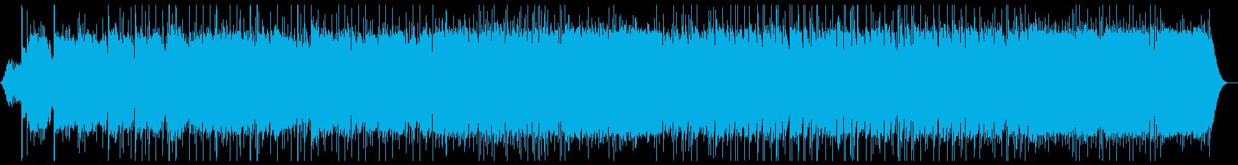 メロディアスなギターインストバラードの再生済みの波形