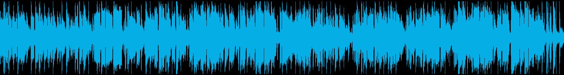 爽快アミューズメント系ファンク※ループ版の再生済みの波形
