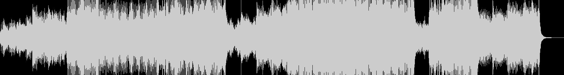 メルヘン・ファンタジックなテクノ Lの未再生の波形