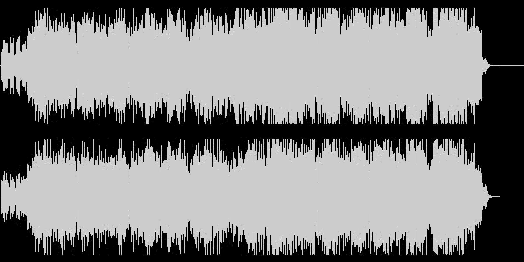 エレクトロニカ風ジムノペティの未再生の波形