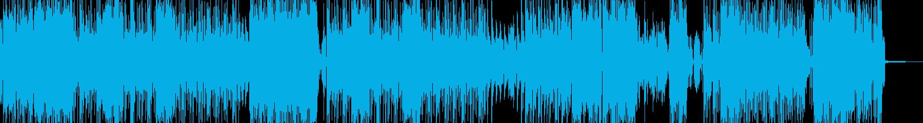 高揚感・サイバーコミカルなポップの再生済みの波形