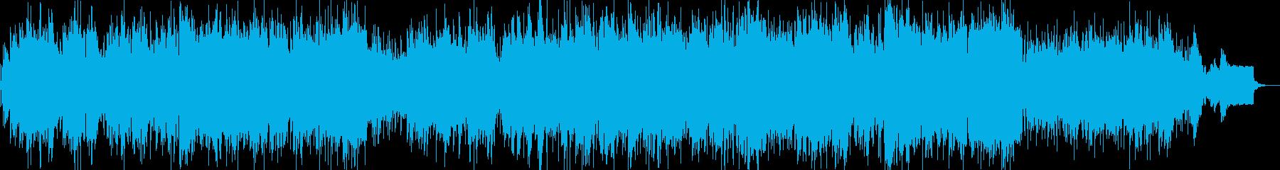 ポップ系バラードの再生済みの波形