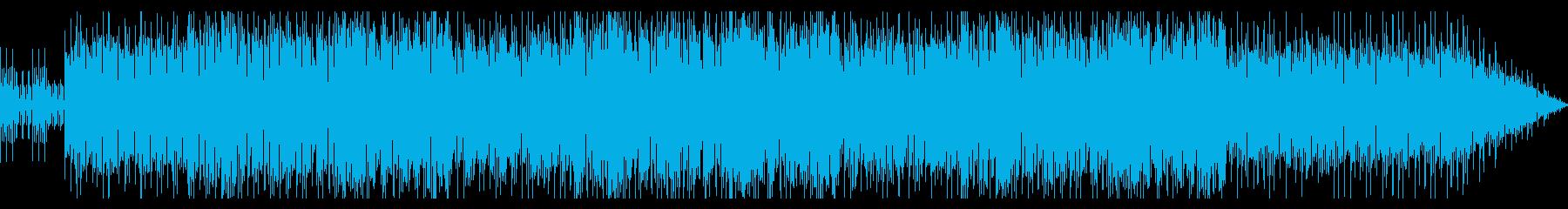 のんびりしたインストポップの再生済みの波形