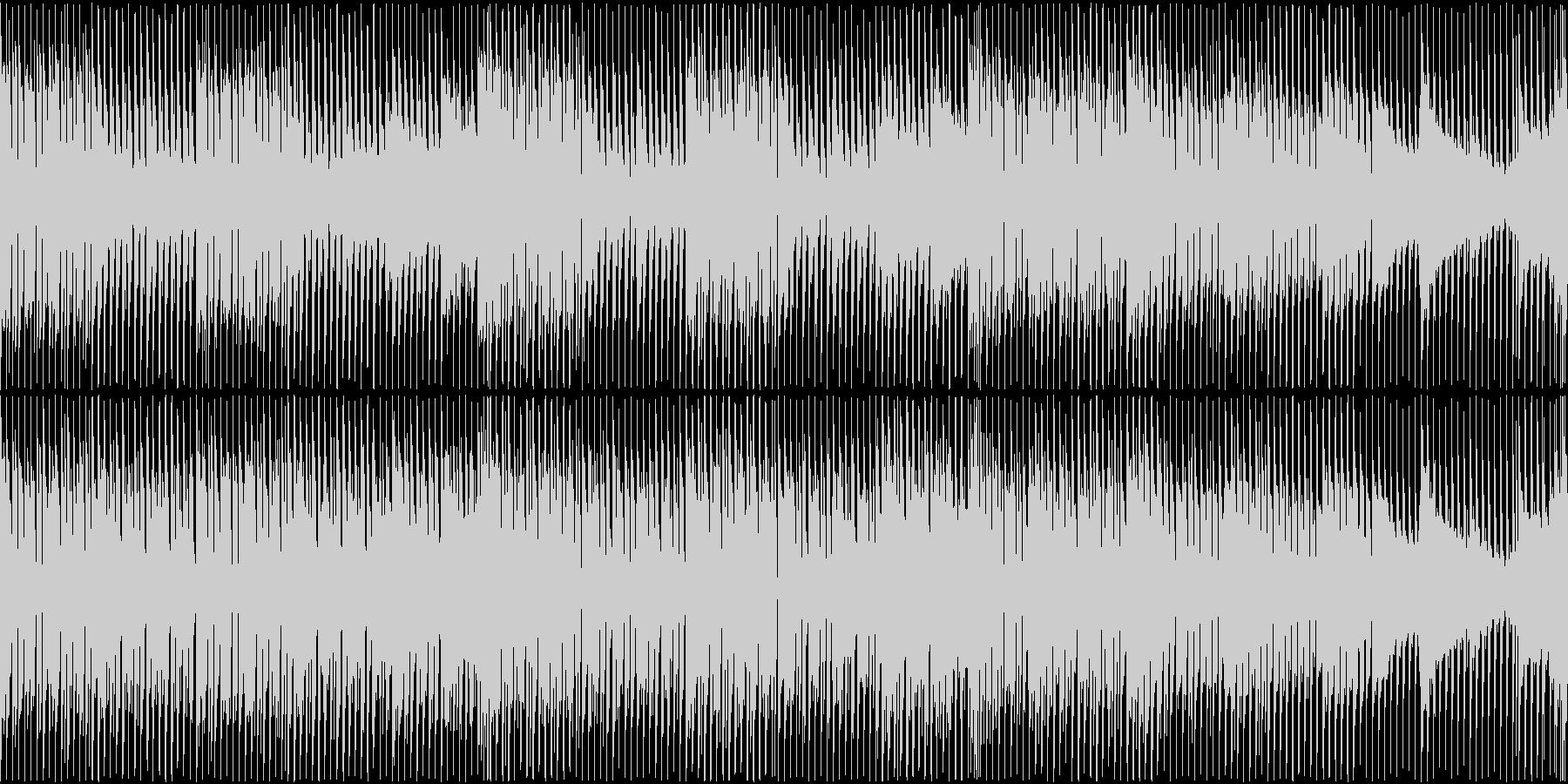 【ループ仕様】爽やかで怪しいBGMの未再生の波形