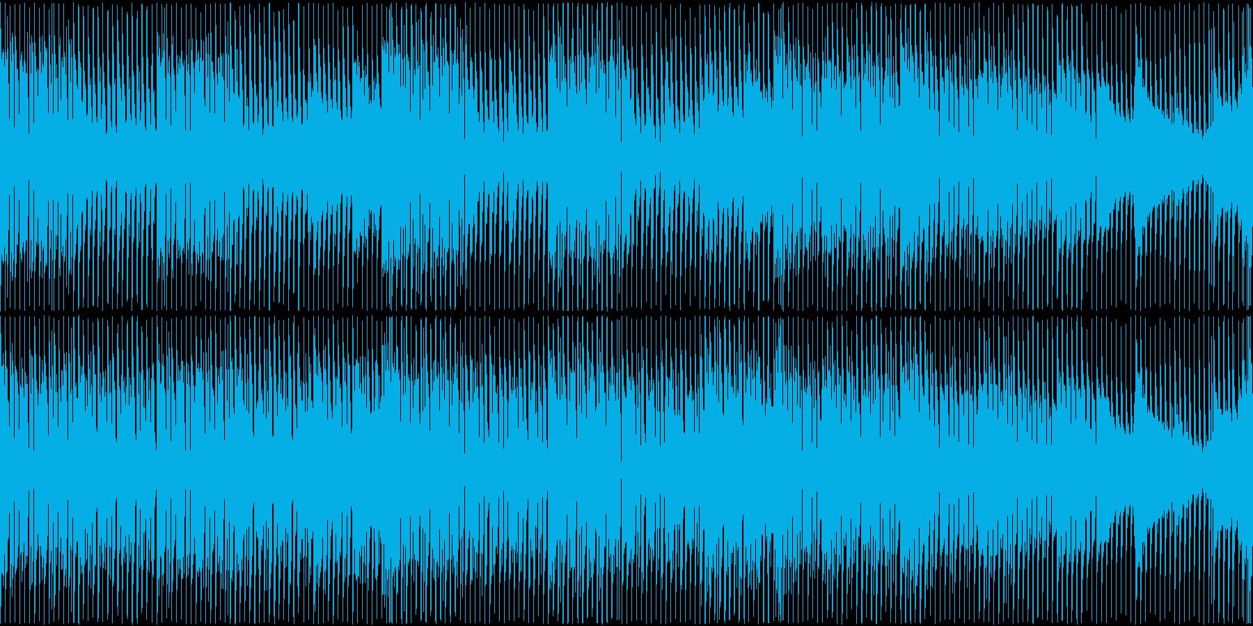 【ループ仕様】爽やかで怪しいBGMの再生済みの波形