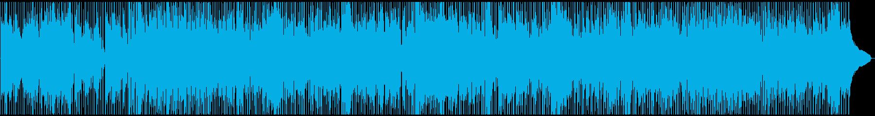 お洒落なクールジャズの再生済みの波形