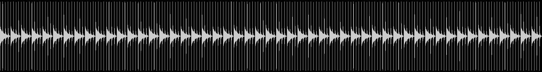 木製振り子メトロノーム03-BPM208の未再生の波形