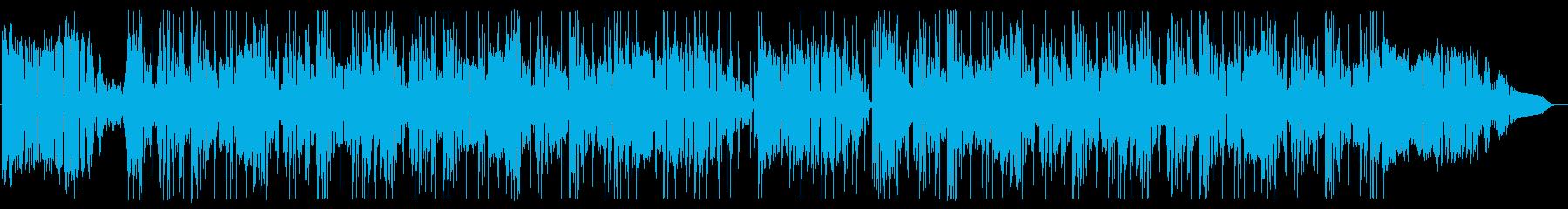 ファンキーなクラブジャズサウンドの再生済みの波形