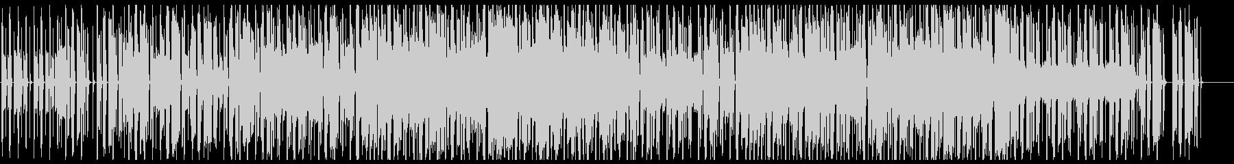 ジャジーでオシャレなチル系ビート フル歌の未再生の波形