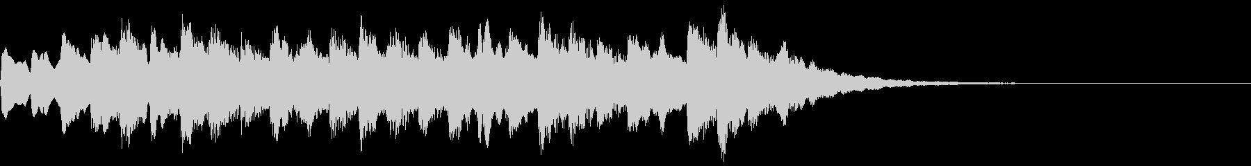 着信音 美しいメロディの後にキラキラの未再生の波形