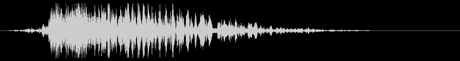 ヘビーロッククランプメタルヒットの未再生の波形