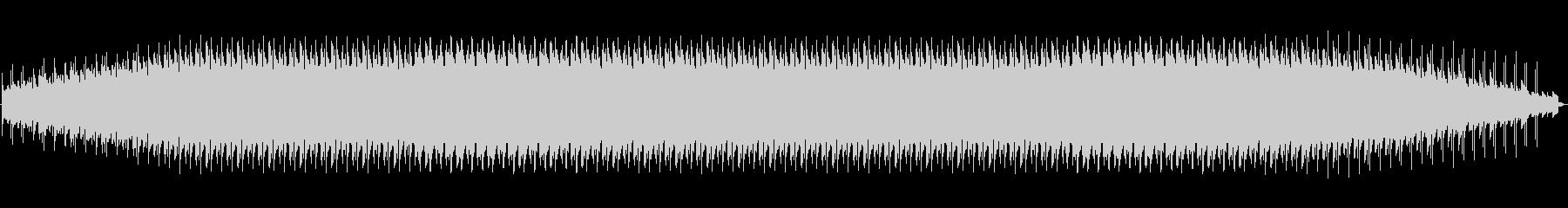 全音音階で無限に上昇する音楽の未再生の波形