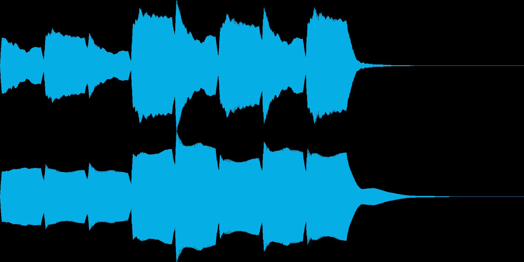 救急車のサイレンC(住宅モード・短)の再生済みの波形