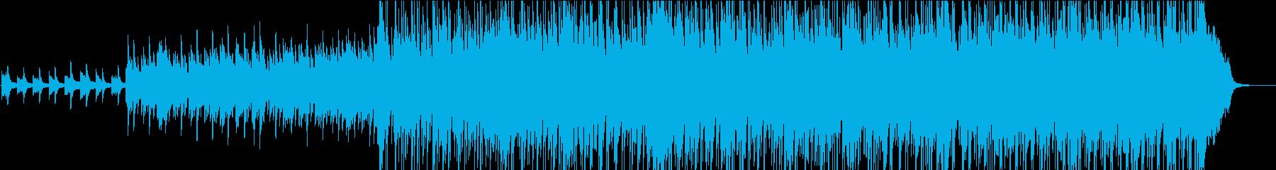 段々と盛り上がる壮大なバラード2の再生済みの波形
