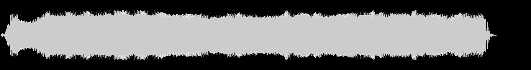 ピーーーー!◇ホイッスル、笛(超ロング)の未再生の波形