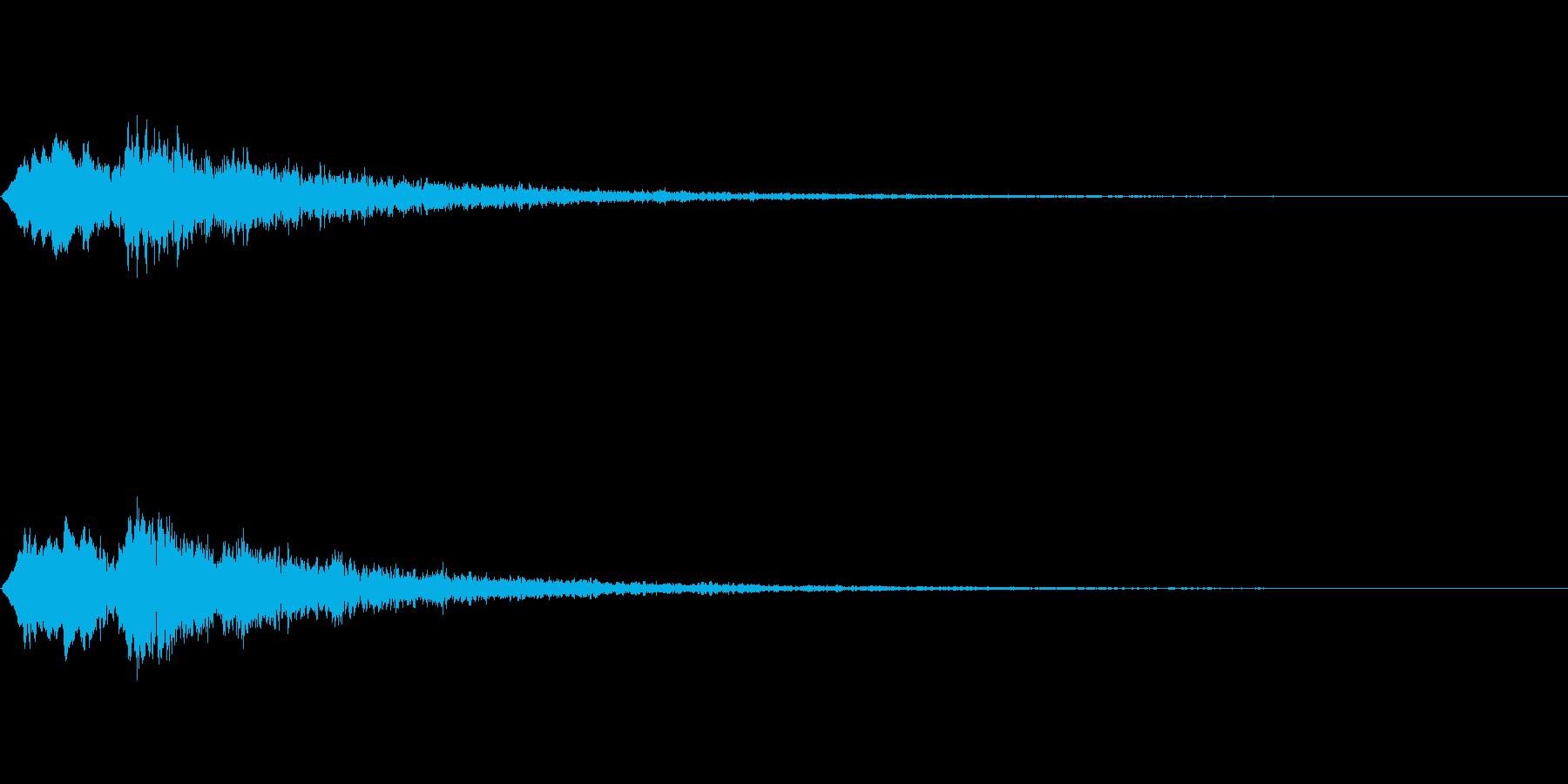 Vox 不気味な鳴き声 ホラーSE 8の再生済みの波形