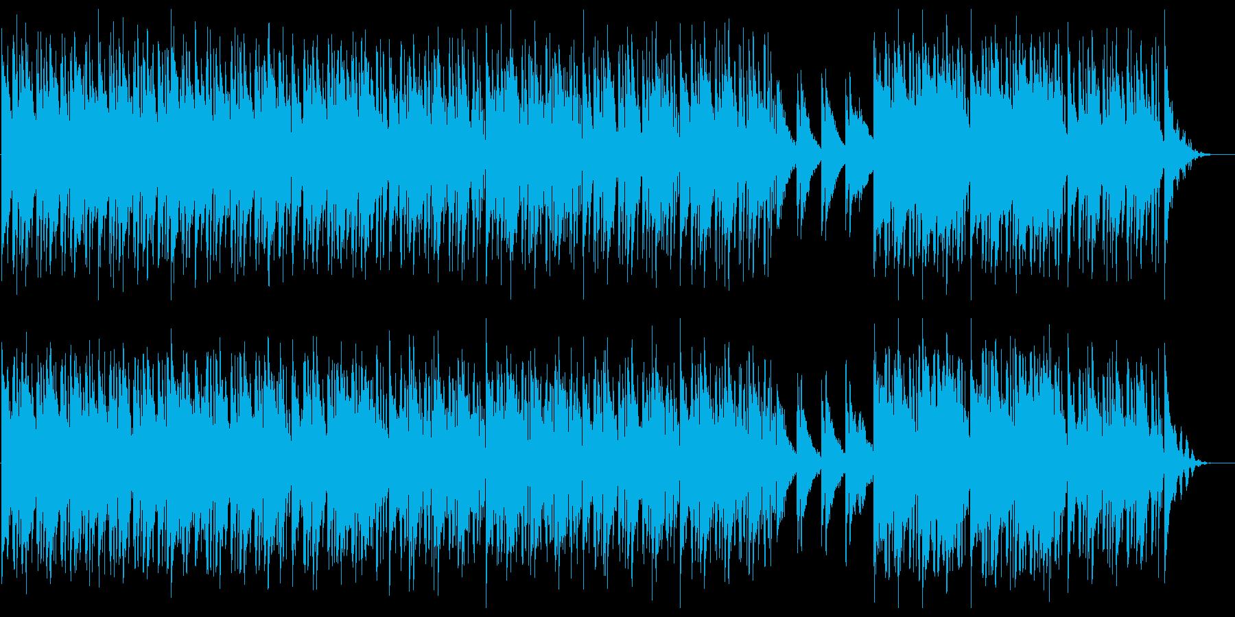 電子音が際立つおしゃれなスローエレクトロの再生済みの波形