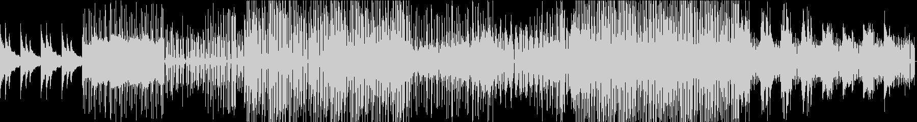 壮大かつ切ない、スローEDM系BGMの未再生の波形