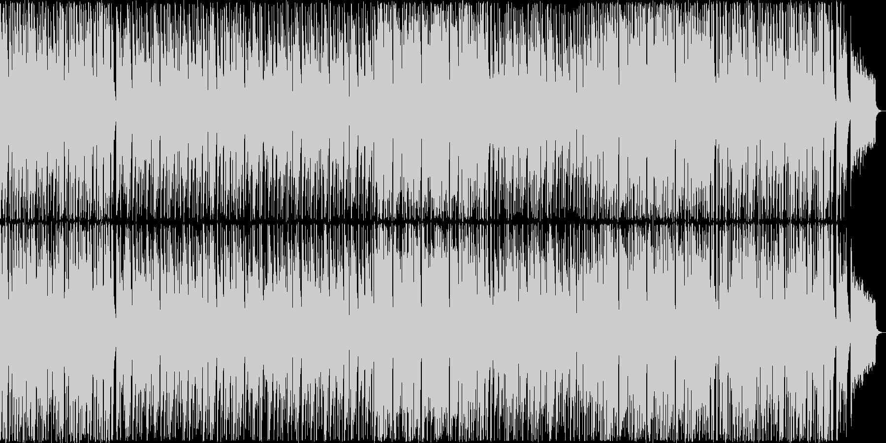 アコギとサックスのさわやかで優しい曲の未再生の波形