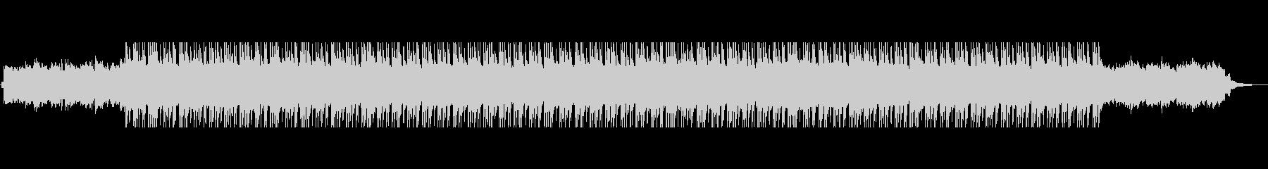 おしゃれでエモいエレクトロビートの未再生の波形