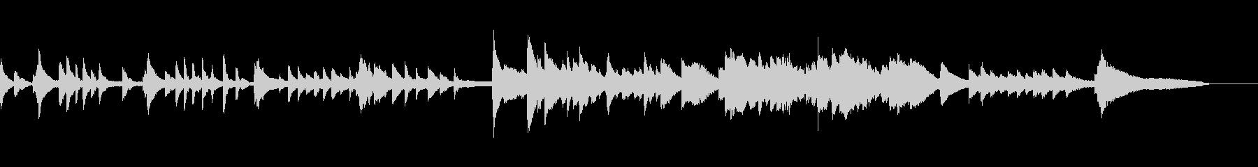 切ないピアノソロ曲・ゲームオーバーなどにの未再生の波形