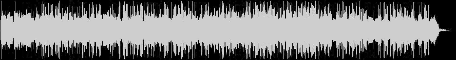 ローファイ色のあるトロピカルハウスの未再生の波形