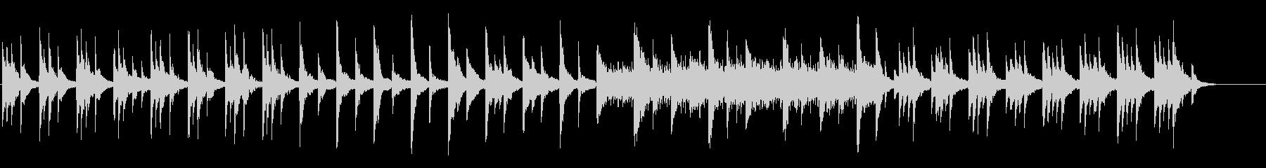 Deep Blue KURAGEピアノ版の未再生の波形