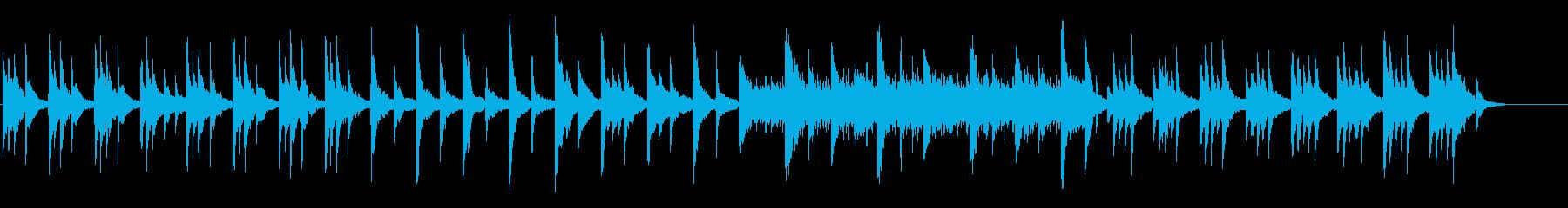 Deep Blue KURAGEピアノ版の再生済みの波形