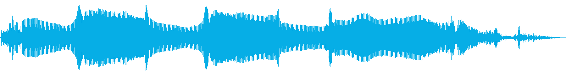 ワウワウ フレーズ トランペットの再生済みの波形