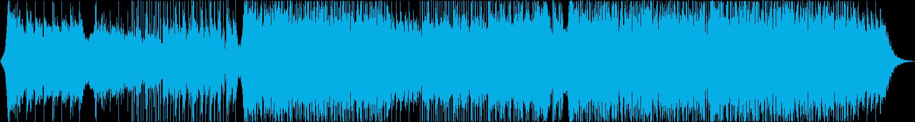 壮大で感動的なエレクトロバラード楽曲の再生済みの波形
