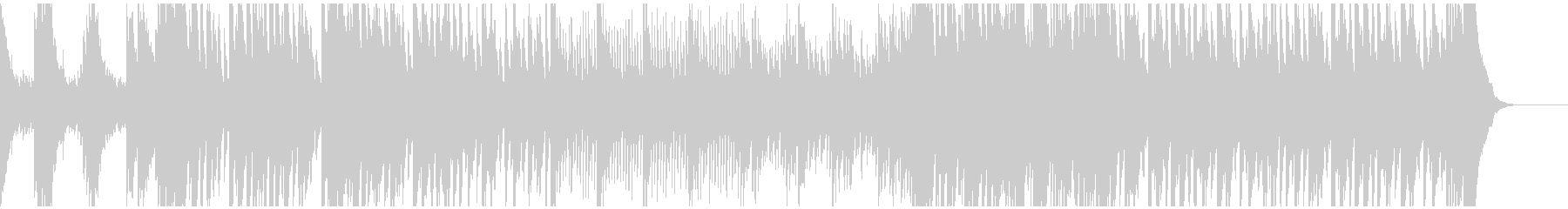 ピアノがメインの曲/静かな決意の未再生の波形