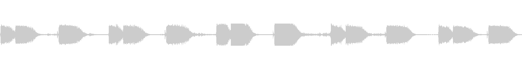 機械コンプレッサー空気ヒスマルの未再生の波形